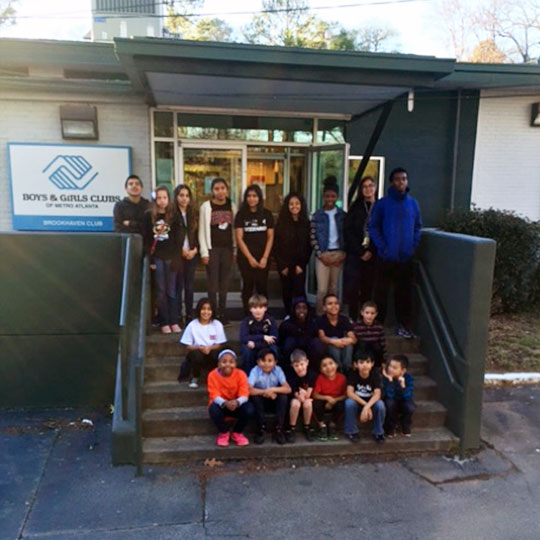 Brookhaven Boys & Girls Club front door photo